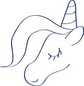 Como Dibujar Un Unicornio Facil Dibujos Fáciles De Hacer