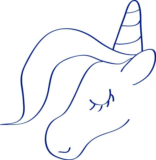 o-dibujar-un-unicornio-facil