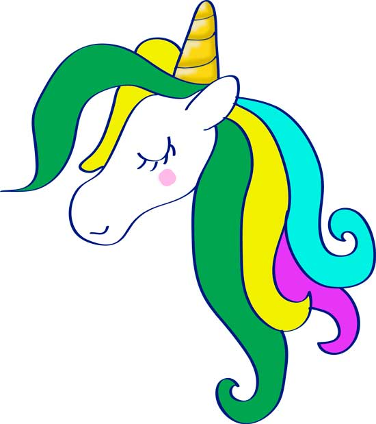 como se dibuja un unicornio