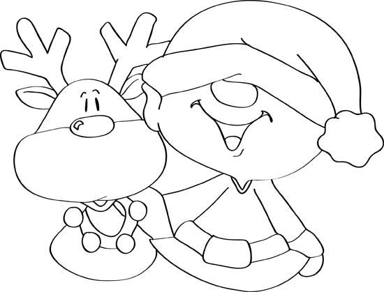 dibujos de navidad faciles