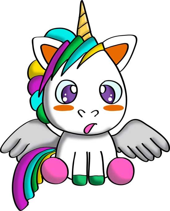 dibujos-de-unicornios-para-niños