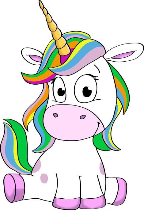 fotos-de-unicornios-para-dibujar
