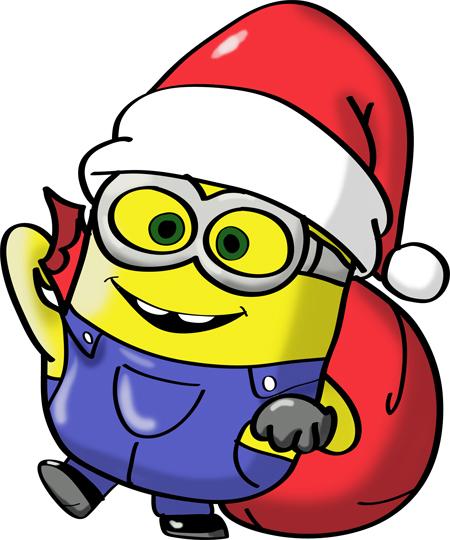 minions de navidad