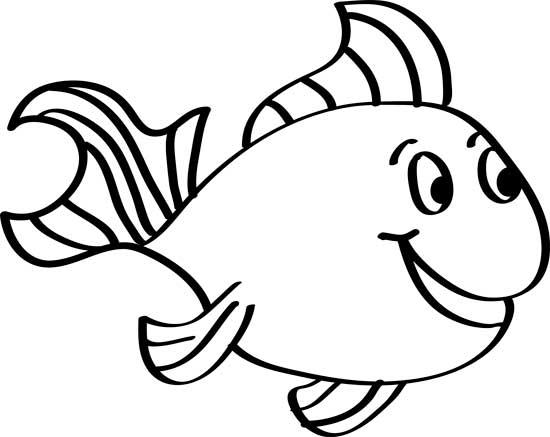bonito pez para pintar