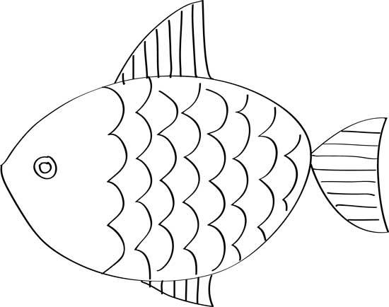 bonitos peces para pintar