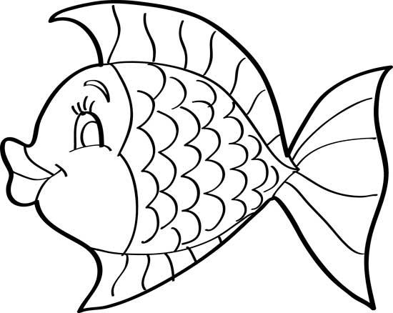 como hacer dibujos de peces