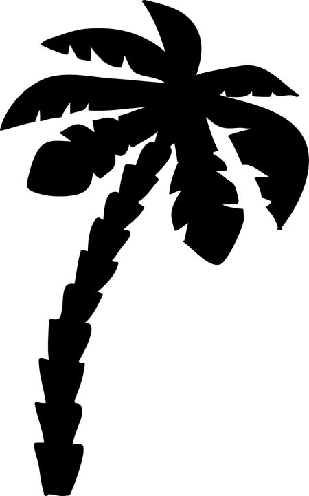 como pintar palmeras paso a paso