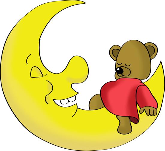 dibujos animados de la luna