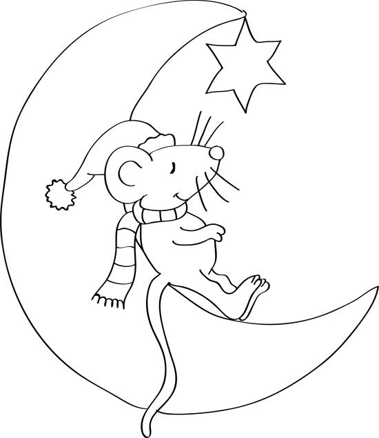 dibujos bonitos de la luna
