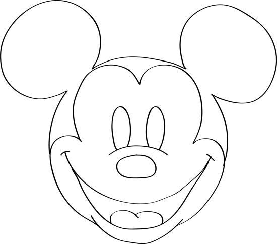 Dibujos De Mickey Mouse Para Colorear Dibujos Faciles De Hacer