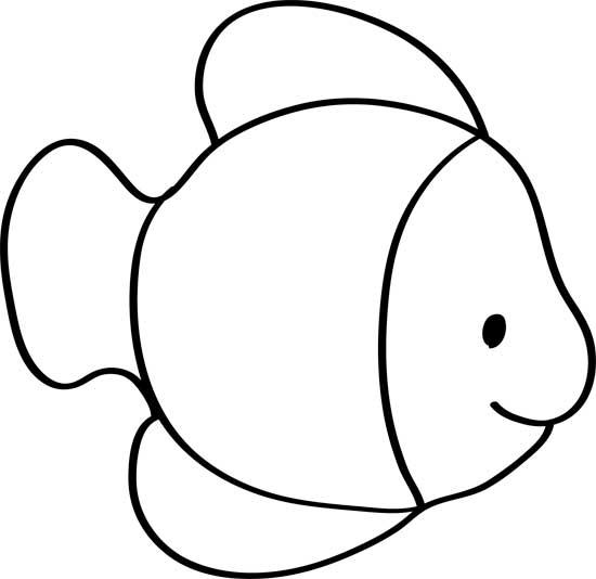 dibujos de peces infantiles