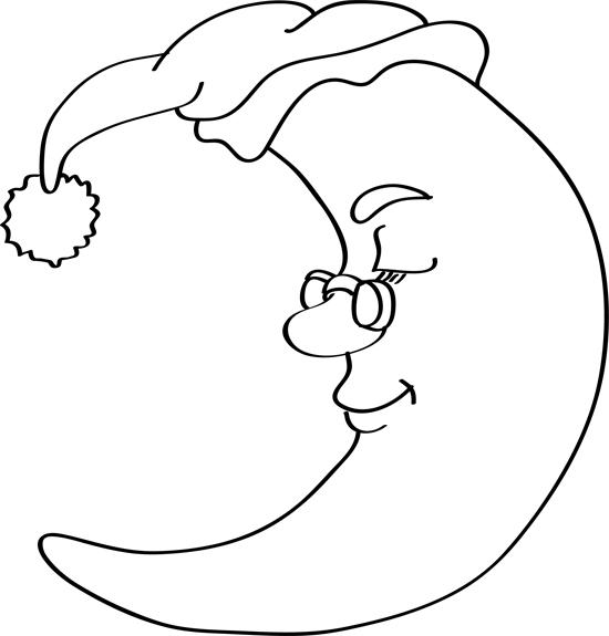 La Luna Para Pintar Dibujos Fáciles De Hacer