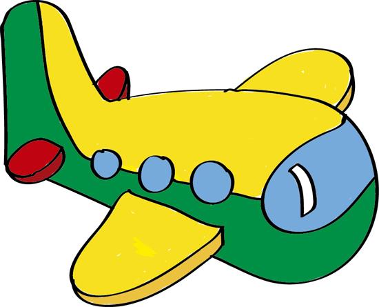 dibujos de aviones coloreados