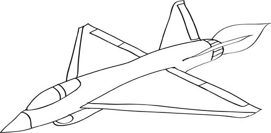 dibujos de aviones de guerra