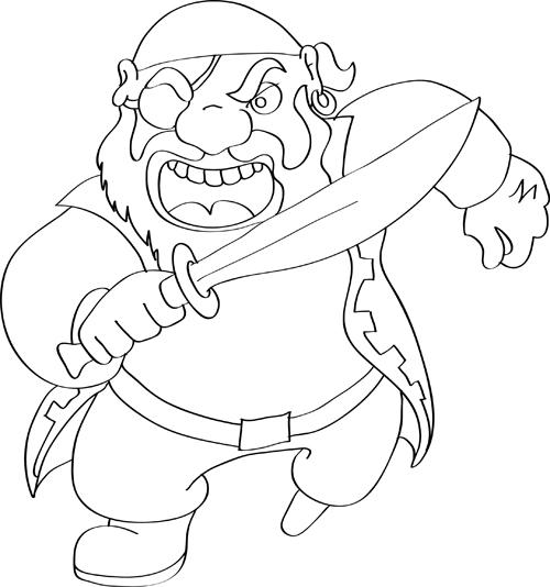 imagenes de piratas en dibujo