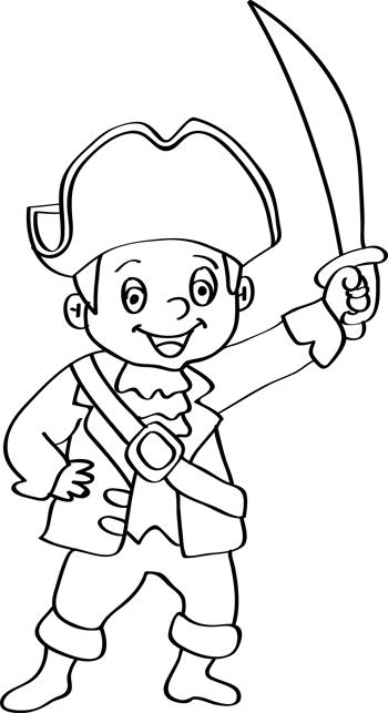 pirata con espada