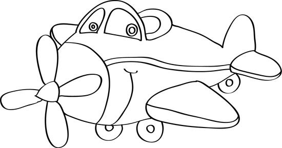 un avion de dibujo