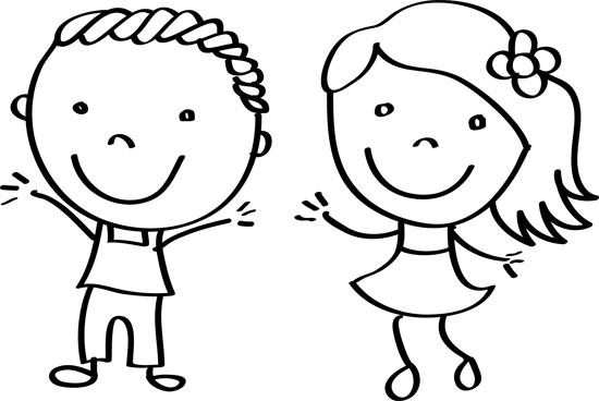 Dibujos De Ninos Dibujos De Ninas Para Colorear Dibujos