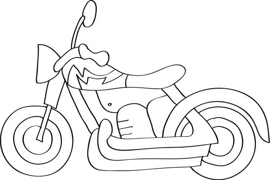 aprender a dibujar motos