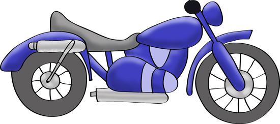 moto azul