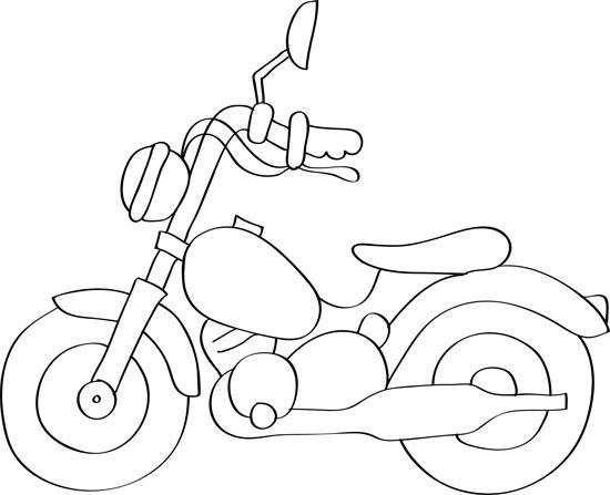 moto de perfil