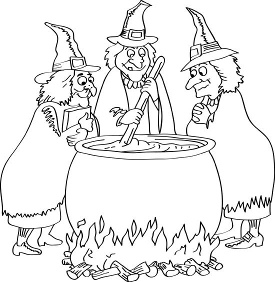 brujas con la olla