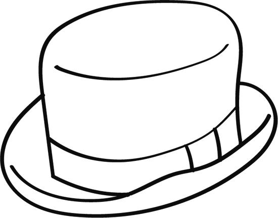 dibujos de sombreros para colorear