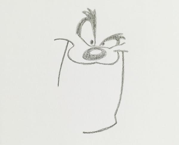 dibujo de taz