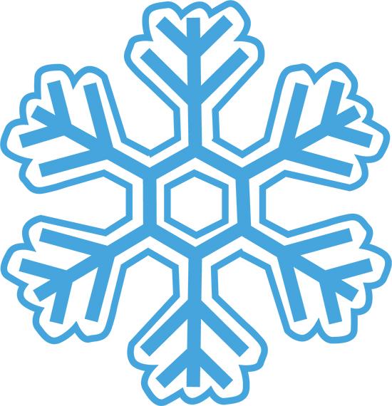 dibujitos de nieve en copos