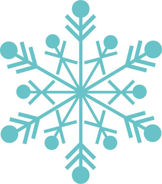 la nieve en copo