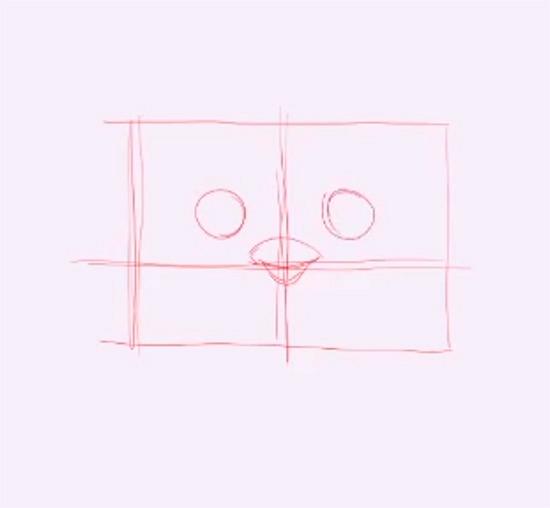 como dibujar un pingúino facil-02