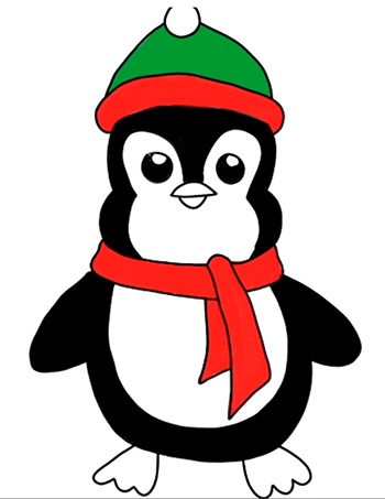 pingúino facil-09