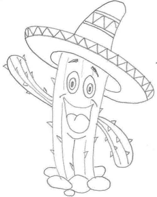 cactus-a-lapiz